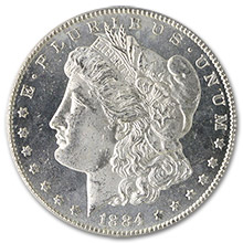 Morgan Silver Dollars (1878-1921)