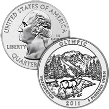 2011 Olympic - 5 oz Silver America The Beautiful in Air-Tite Capsule .999 Silver Bullion Coin