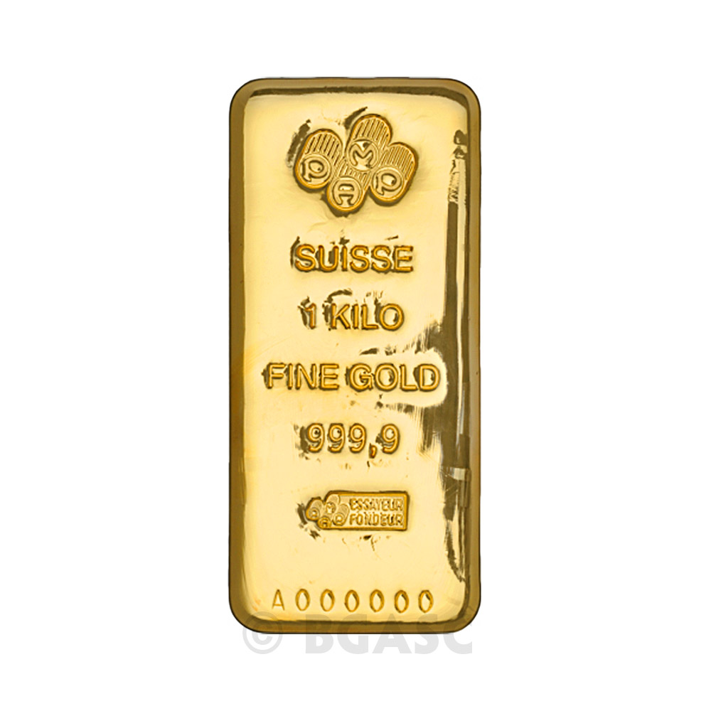 Buy 1 Kilo Gold Bar Pamp Suisse Cast 9999 Fine 24kt 32 15