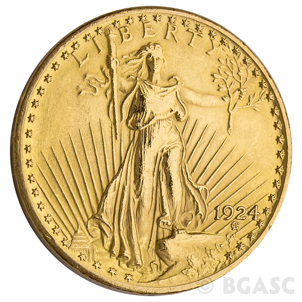 Buy 20 Saint Gaudens Double Eagle Gold Coin Jewelry Grade