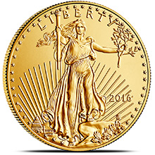 2016 1 oz Gold American Eagle $50 Coin Bullion Brilliant Uncirculated