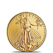2018 1/4 oz Gold American Eagle $10 Coin Bullion Brilliant Uncirculated
