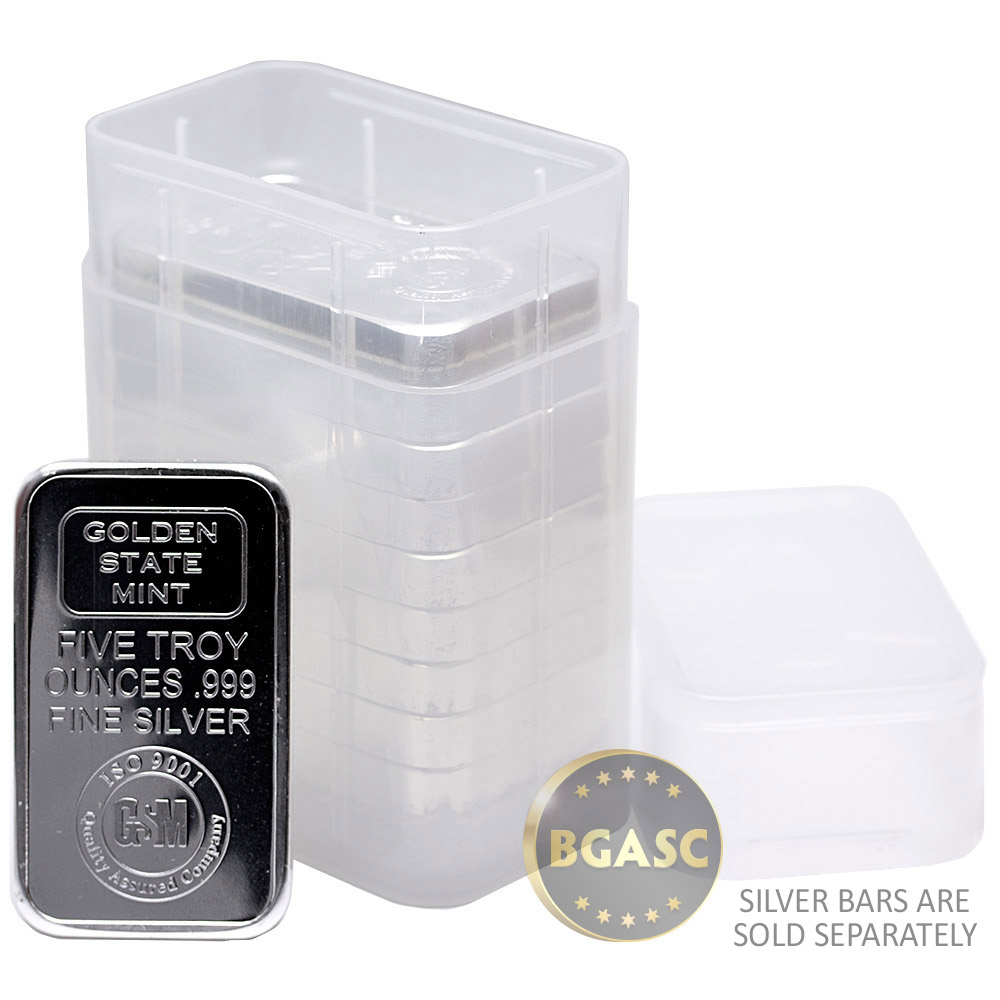 Buy 5 Oz Silver Bar Tubes Special Order Buy Gold And