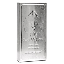 100 oz Silver Bar Scottsdale