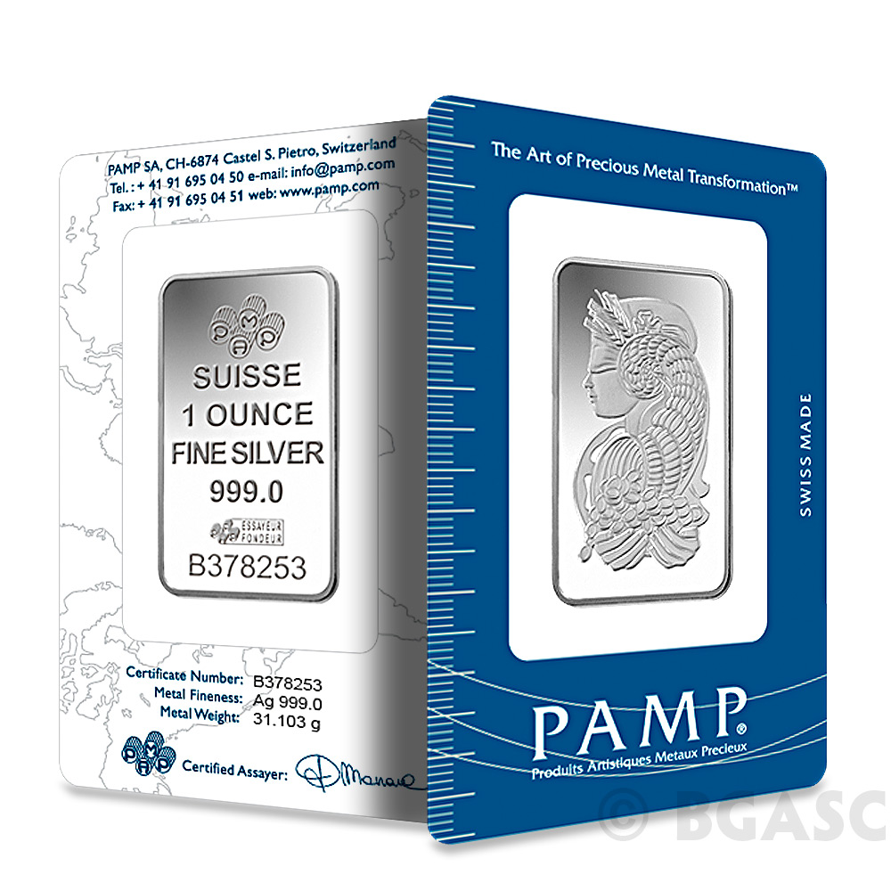 Buy 1 Oz Silver Bars from Money Metals