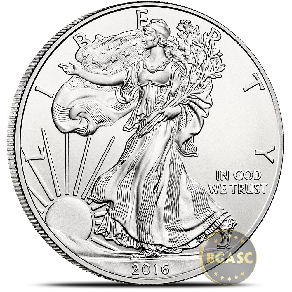 Buy 2016 1 Oz American Silver Eagle Bullion Coin 999 Fine