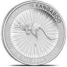 2018 Australian 1 oz Silver Kangaroo .9999 Fine Brilliant Uncirculated